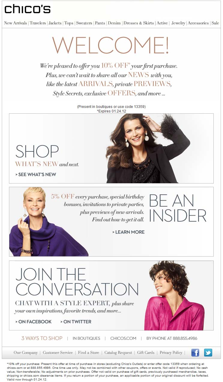 J. Jill Clothing Coupons here are all on...