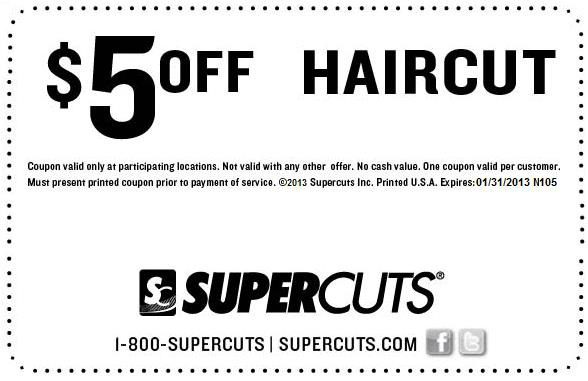 Famous haircut coupons