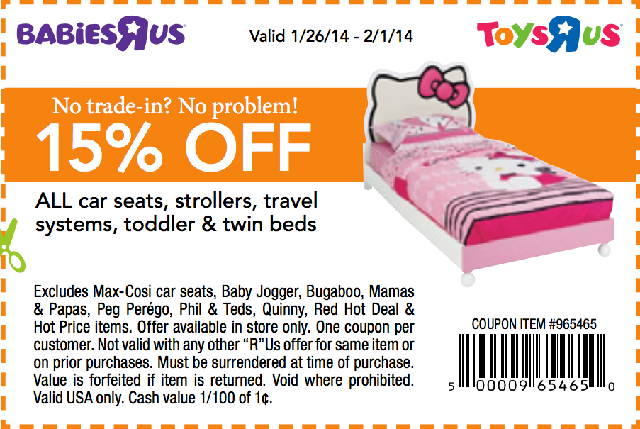 photo relating to Baby R Us Coupons Printable called 15 coupon toys r us : Ninja cafe nyc coupon codes