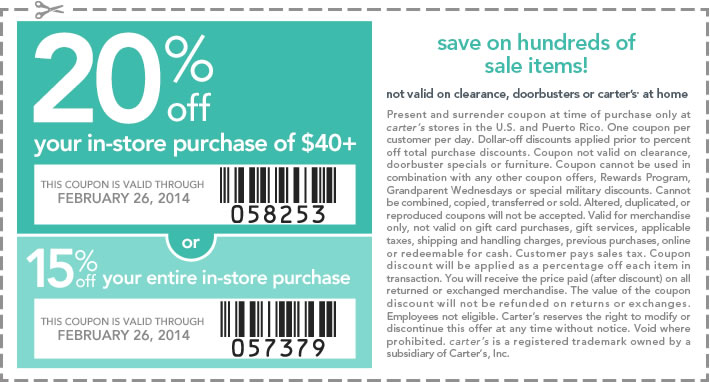 B and g discount coupons