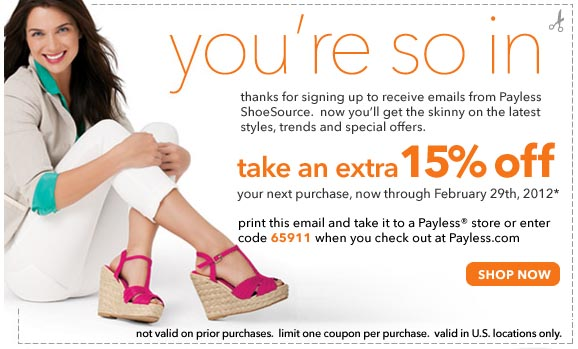 Payless beauty coupon code 2018