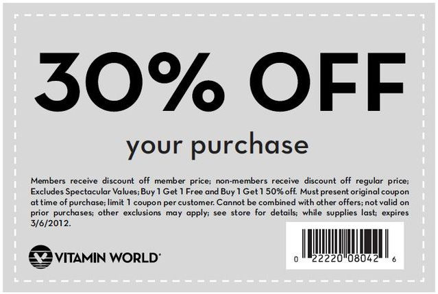 graphic regarding Gnc Printable Coupons 10 Off 50 named Vitamin worldwide discount codes printable : Motorbike license chicago