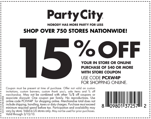 About Party City