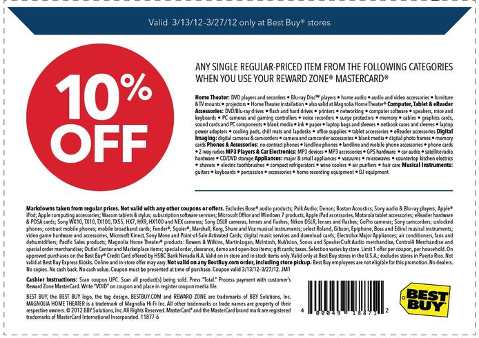 Best buy coupon code 10