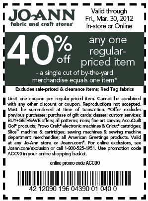 Coupon code fabric.com