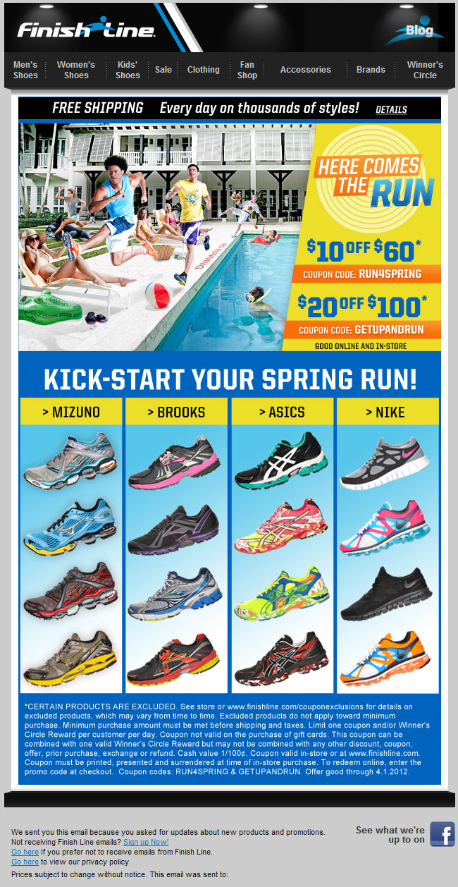 picture relating to Finish Line Printable Coupons 20 Off titled Entire line discount codes 20 off / Knight discount codes