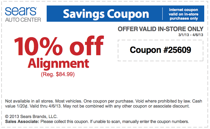 9 verified Sears Auto Center coupons and promo codes as of Dec 2. Popular now: In-Store: Free Alignment Check. Trust interactivebest.ml for savings.