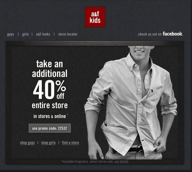 abercrombie kids promo coupon codes and printable coupons