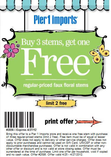 Norfolk florist printable coupon