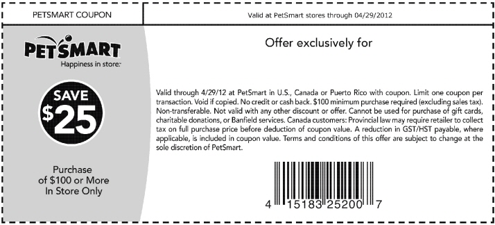 Petsmart hotel coupons