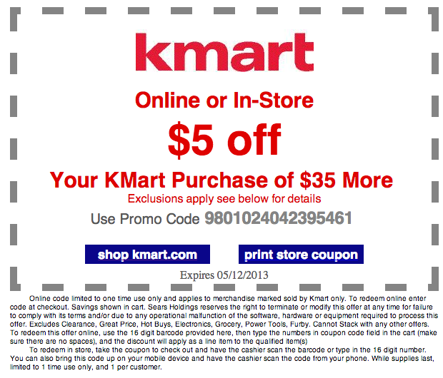 kmart   5 off   35 printable coupon see all kmart coupons l5oOTzL6