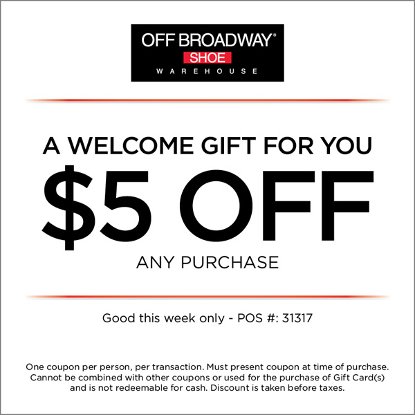 Broadway box discount coupon