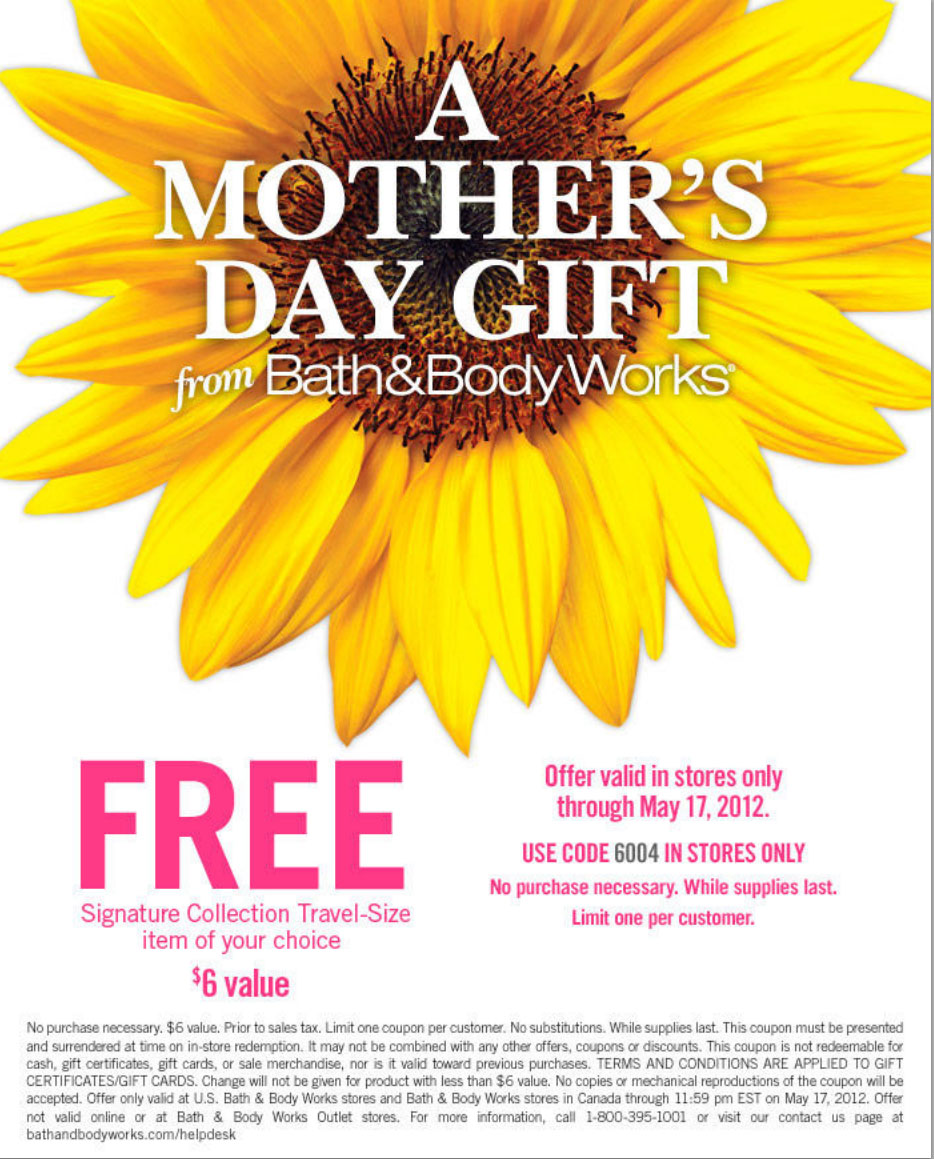 Bath and body works coupons in store printable 2018