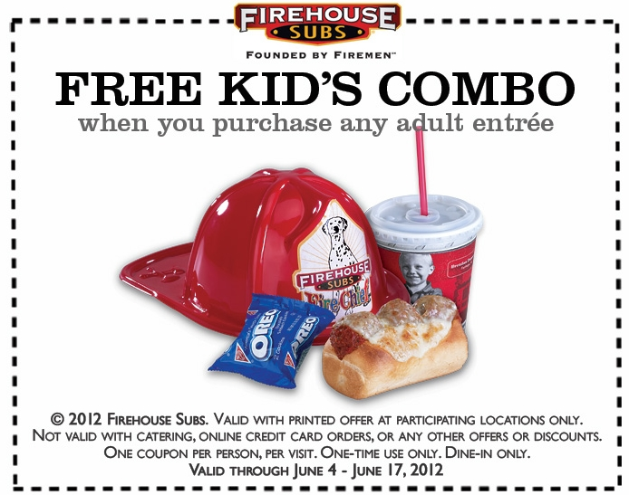 Oct 08,  · Bring your I.D. to any Firehouse Subs on your birthday and receive a free medium sub! Don't let your friends forget. More. Copy link to Tweet; Embed Tweet; Replying to @FirehouseSubs @FirehouseSubs I have one question. Do firemen get a discount when the come to firehouse subs to eat the delicious subs? 1 reply 0 Twitter may.