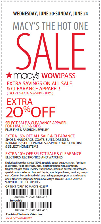 Macy's coupons july 2019