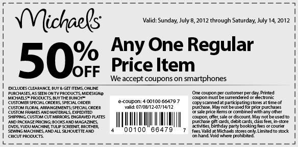 michaels 50 off printable coupon