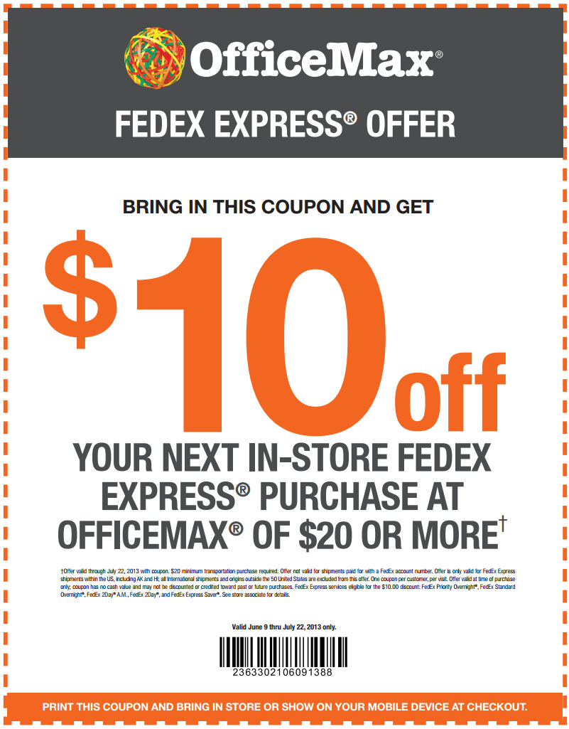 officemax 10 off 20 printable coupon