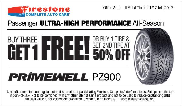 Firestone tire coupons september 2018