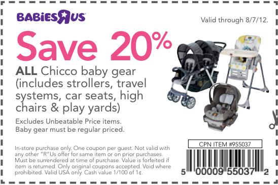 Printable 20 off babies r us coupon 2018
