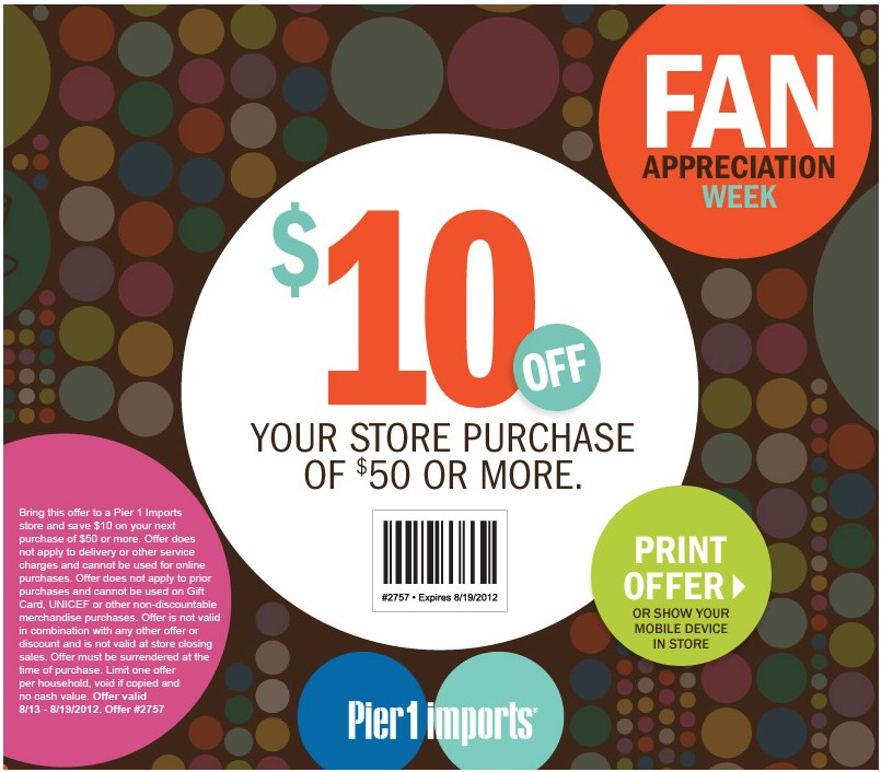 It is an image of Ambitious Pier One Coupon Printable
