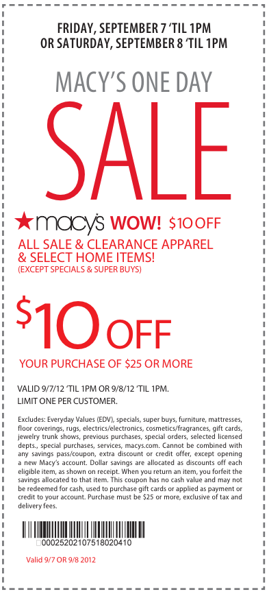 Macys coupon codes 2018
