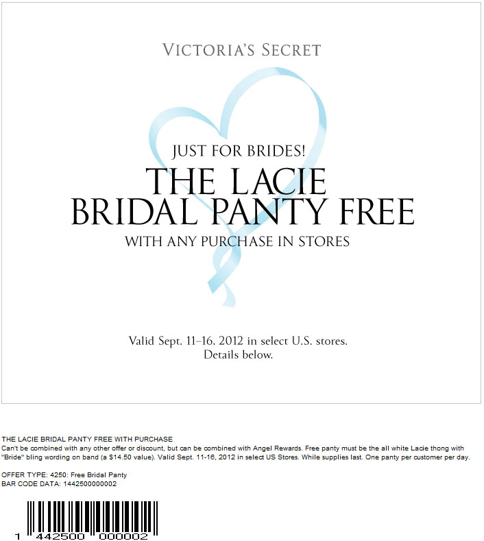 It's just an image of Geeky Victoria Secret Coupon in Store Printable
