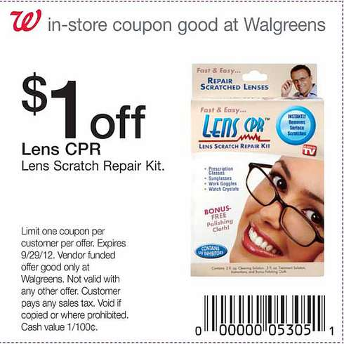 Walgreens contacts coupon code