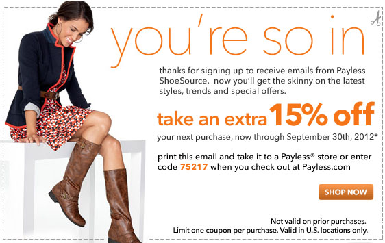 When it comes to affordable footwear, Payless Shoes is always a step ahead. This retail favorite offers a wide selection of popular brands, including Airwalk, Montego Bay and safeTstep. Payless carries items for men, women and kids, so the whole family can find shoes they'll love, no matter the season.