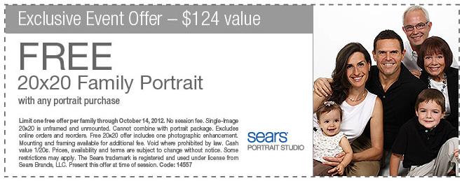 Sears portrait coupons 7 99 / Kia sorento lease deals ct