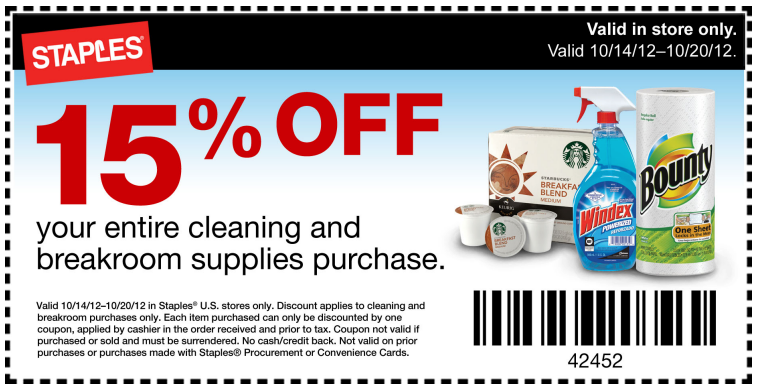 Staples 20 off coupon 2018 october