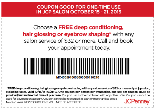 Jcp coupons codes