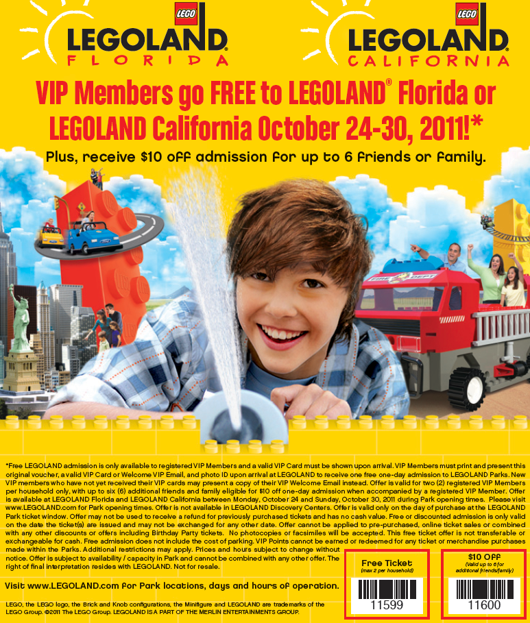 If you're looking for a little family fun, a trip to Legoland might be just what you need. They have parks in California and Florida featuring dozens of rides and attractions that both kids and parents are sure to .