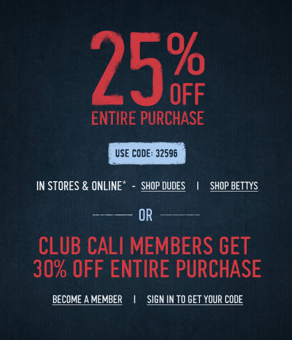 Hollister Promo Coupon Codes and Printable Coupons
