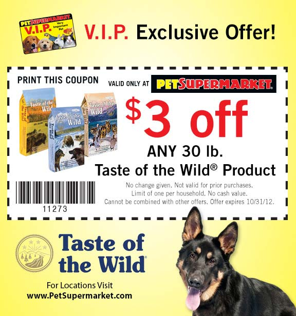 Pet supermarket printable coupons september 2018