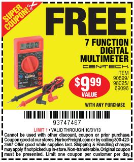 Free Multimeter Harbor Freight Coupon Printable Coupon Free ...