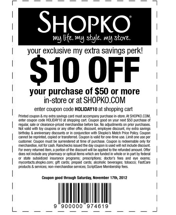 It is an image of Selective Shopko in Store Printable Coupons 2020