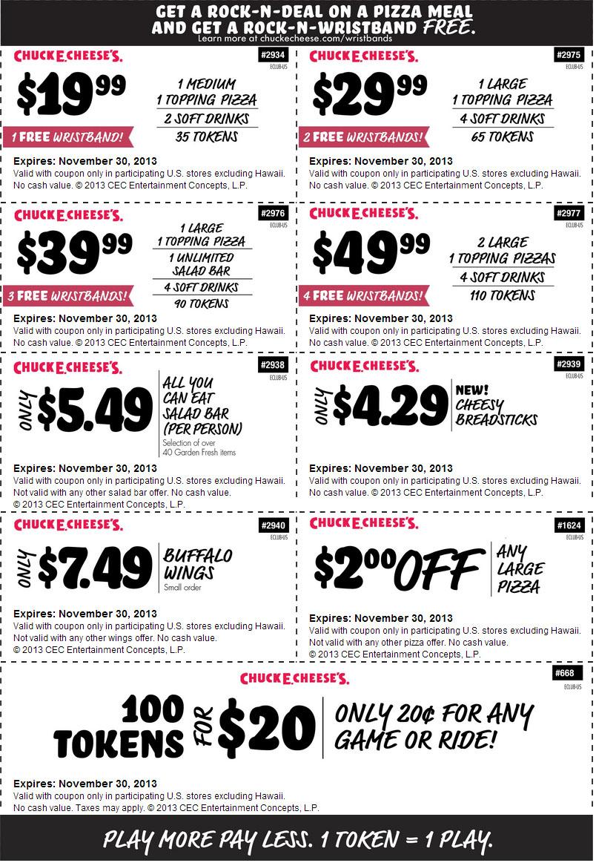 Specs coupons