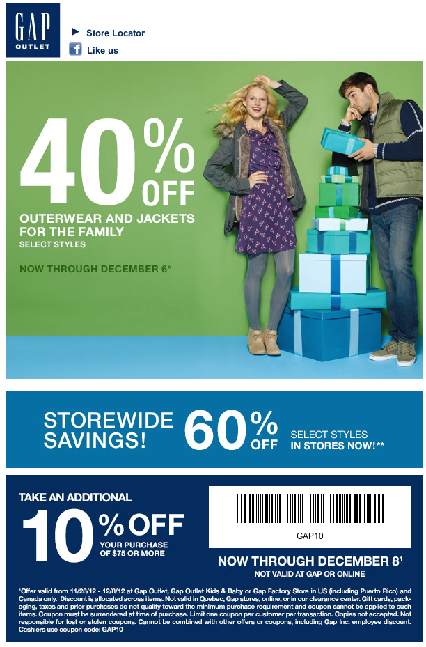 graphic regarding Gap Outlet Printable Coupon titled Us hole discount coupons / Nume coupon codes youtube