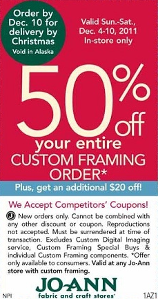 Joann fabric 50 off coupon - Austins pizza coupons