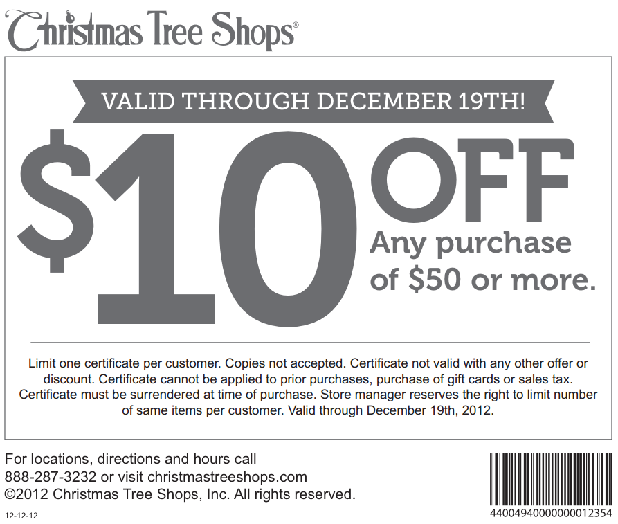 christmas tree shops online part 36 christmas tree shop coupon printable - Christmas Tree Store Coupon