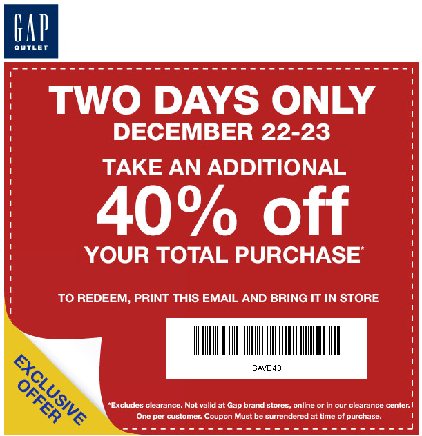 Gap cupons : Justice coupon code