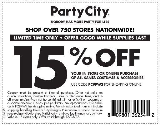 A city discount coupon