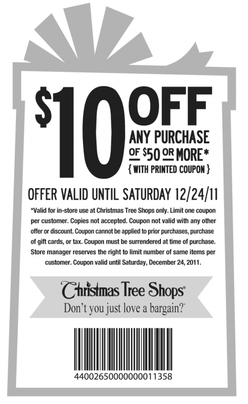 charming christmas tree shop coupon 20 off entire purchase part 13 destroybmxcom - Coupon For Christmas Tree Shop