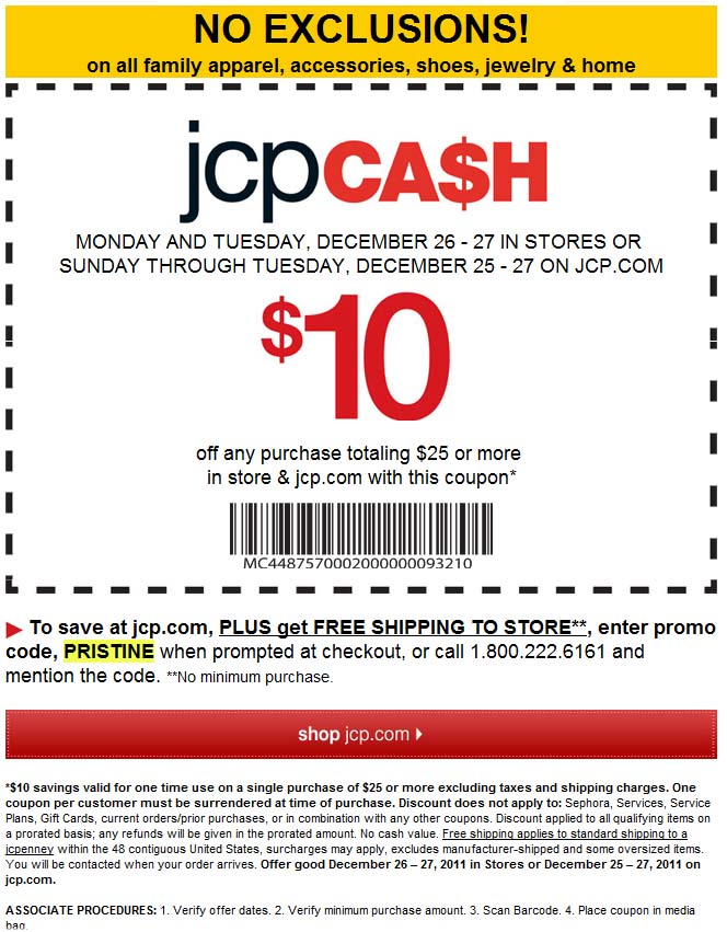 This is a graphic of Massif Jcpenney Printable $10 Coupon