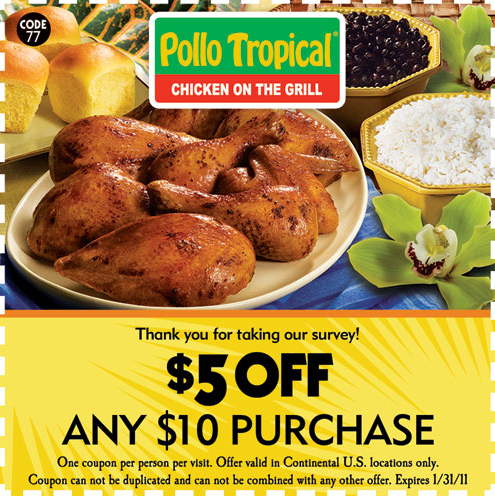 Pollo tropical coupons pdf
