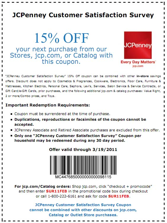 picture relating to Sephora Printable Coupons named Printable discount codes jcpenney may well 2018 : Harcourt outlines discount coupons