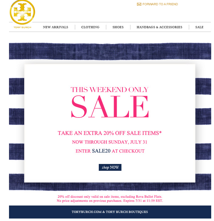 3029bba08e5c Tory burch discount codes   October 2018 Store Deals