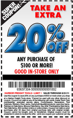 100 free coupons