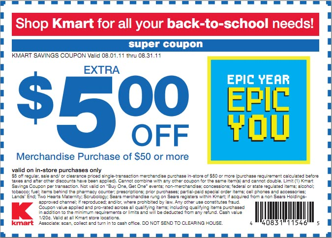 Kmart coupon code