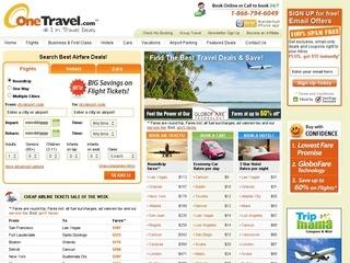 OneTravel Promo Coupon Codes and Printable Coupons